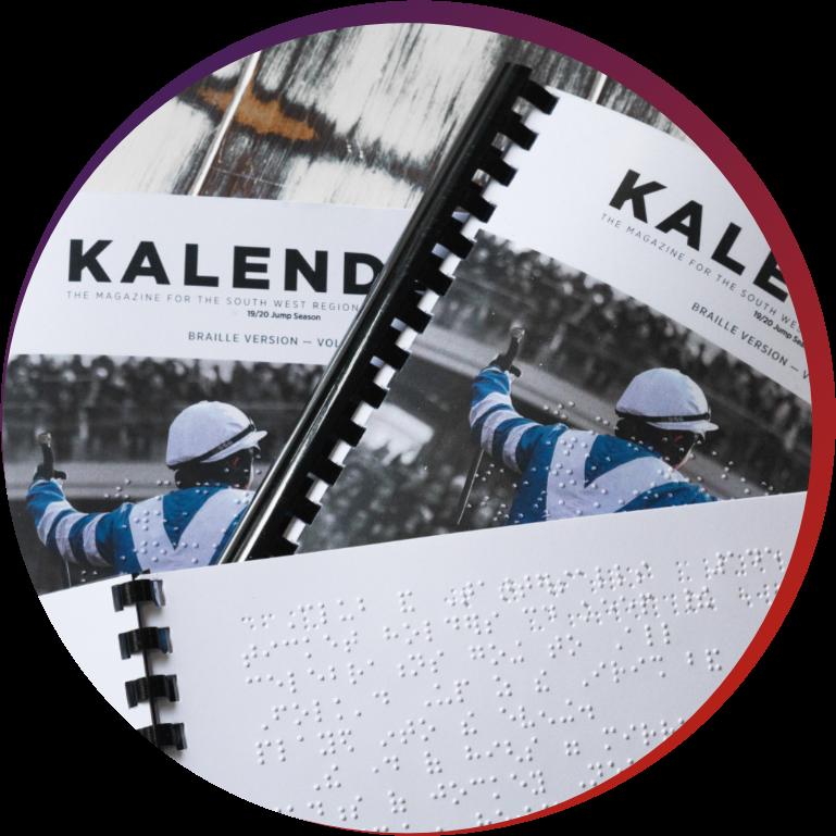Braille Kalendar Brochure